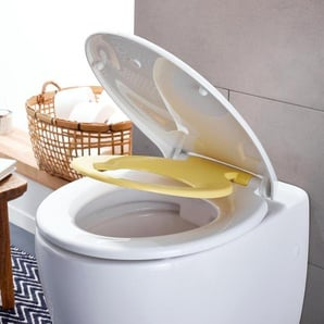 WC-Sitz »Family« mit Absenkautomatik - gelb -