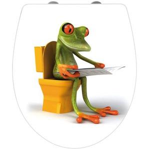 WC-Sitz | mehrfarbig | 38,5 cm | 46 cm |