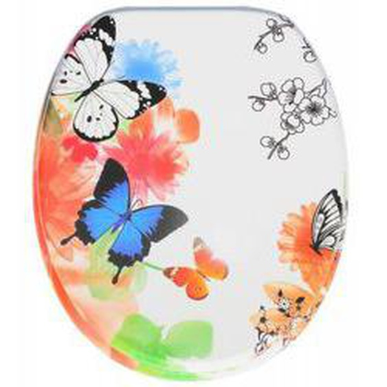 WC-Sitz mit Absenkautomatik Butterfly
