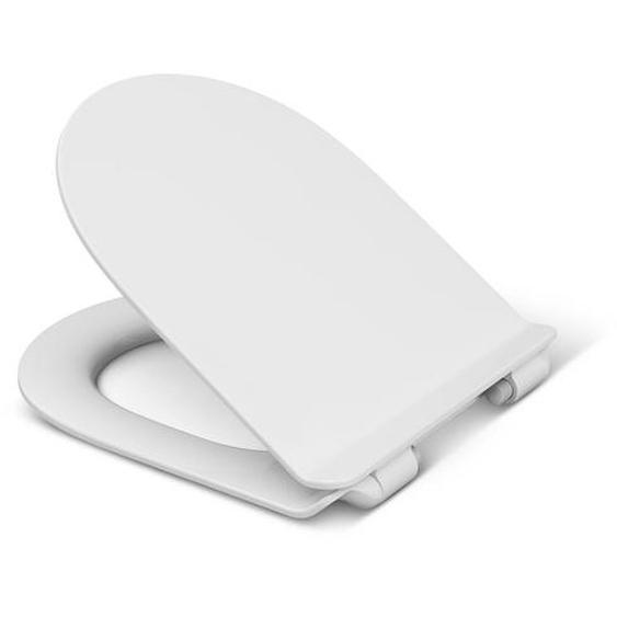 WC-Sitz Nara Slim mit Absenkautomatik, weiß
