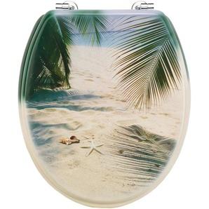 Cornat WC-Sitz »Palmen am Strand«