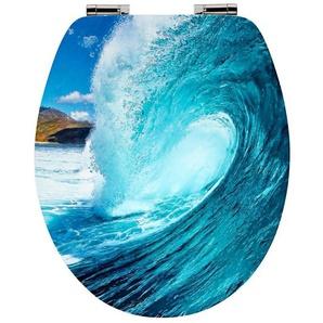 Cornat WC-Sitz »Wave«, Mit Absenkautomatik