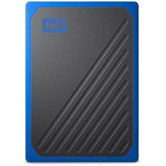 WD My Passport Go 1TB SSD Black-Blue