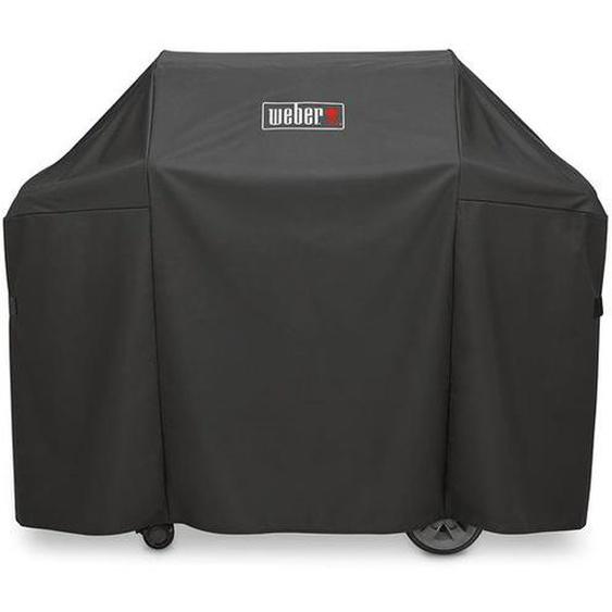 Weber Abdeckhaube Premium für Genesis II 300-Serie Schwarz