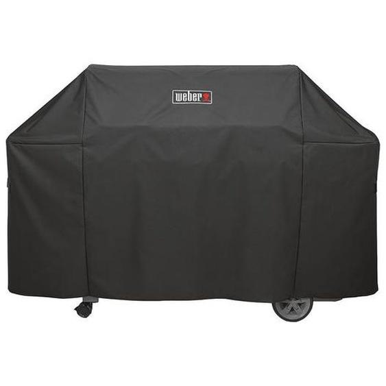 Weber Abdeckhaube Premium für Genesis II 600-Serie Schwarz