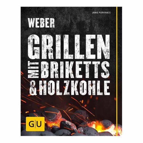 Weber Grillbuch Grillen mit Briketts & Holzkohle Schwarz