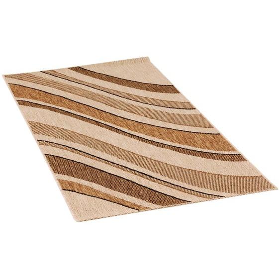 Webteppich  Decora | beige | Synthethische Fasern |