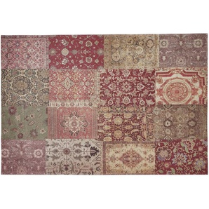 Webteppich | mehrfarbig | Synthethische Fasern, 34% Baumwolle, 33% Polyester, 33% Polyacryl Chenille | 155 cm |