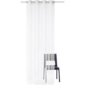 Weckbrodt Fadenvorhang Leon 240 cm, Ösen, 98 cm weiß Gardinen Vorhänge