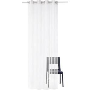 Weckbrodt Fadenvorhang »Leon«, H/B 240/148 cm, weiß