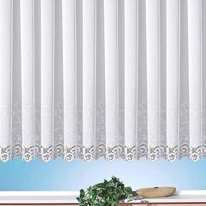 Weckbrodt Gardine »Elina«, H/B 145/300 cm, weiß, transparenter Stoff
