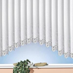 Weckbrodt Gardine »Elina«, H/B 145/450 cm, weiß, transparenter Stoff