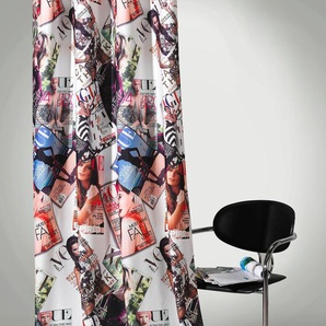 Weckbrodt Vorhang »High Fashion«, H/B 245/140 cm, bunt