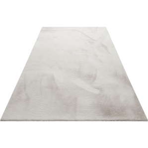 Hochflor-Teppich, Anna, Wecon home Basics, rechteckig, Höhe 25 mm, maschinell getuftet