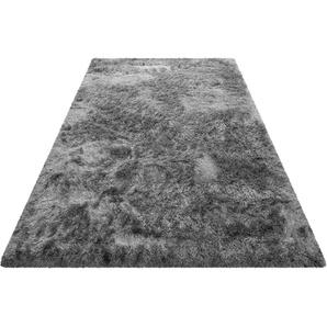 Hochflor-Teppich, Bella, Wecon home Basics, rechteckig, Höhe 70 mm, maschinell gewebt