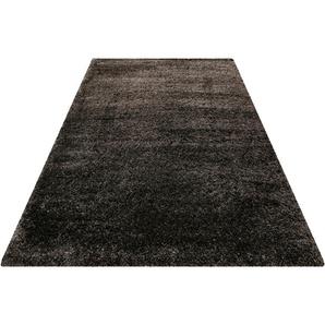 Hochflor-Teppich, Paula, Wecon home Basics, rechteckig, Höhe 55 mm, maschinell gewebt