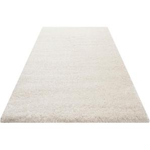 Hochflor-Teppich, Smilla, Wecon home Basics, rechteckig, Höhe 50 mm, maschinell gewebt