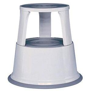 WEDO Rollhocker   grau Metall