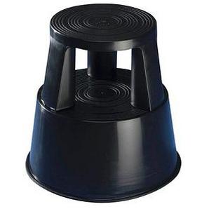 WEDO Rollhocker Step schwarz Kunststoff
