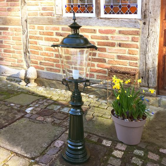 Wege Aussenlampe Vintage Lampe Garten - Mediterrane Aussenleuchte - H.107 cm