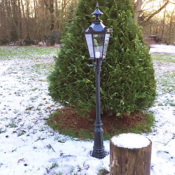 Wegelampe Antik Gartenbeleuchtung Aussenleuchten Standlampe Antiklampe - H.164cm