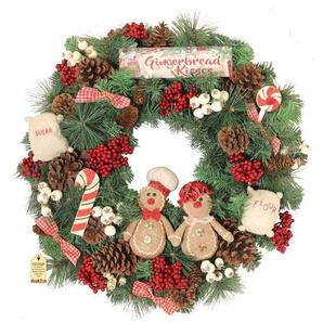 Weihnachtskranz Gingerbread Kisses