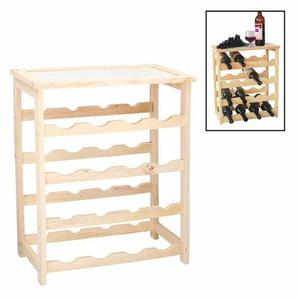 Weinregal Aus Holz Für 16 Flaschen Weinständer Flaschen Wein Regal