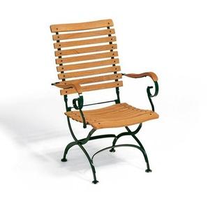 Weishäupl - Classic Hochlehner Stuhl - dunkelgrün - outdoor