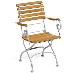 Weishäupl - Classic Sessel straight - dunkelgrün - outdoor