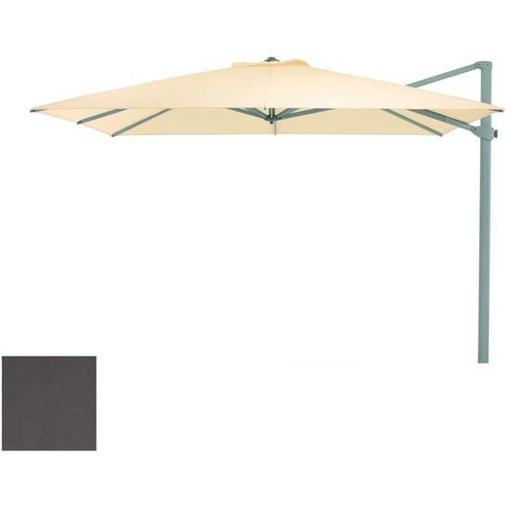 Weishäupl - Freiarmschirm - rund Ø 350 cm - Acryltuch  anthrazit - outdoor