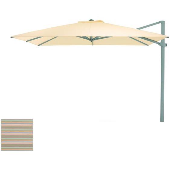 Weishäupl - Freiarmschirm - rund Ø 350 cm - Acryltuch  multicolor mini - outdoor