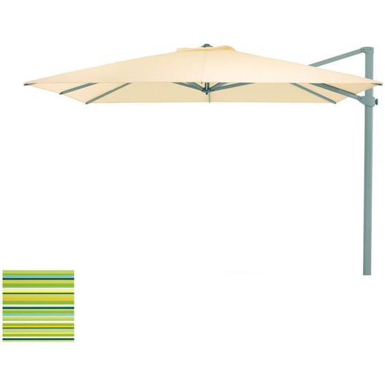 Weishäupl - Freiarmschirm - rund Ø 350 cm - Acryltuch  spring - outdoor