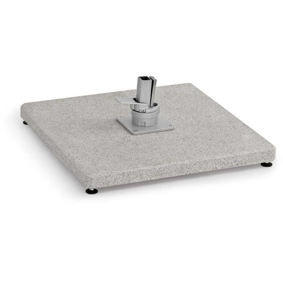 Weishäupl - Schirmständer -Freiarmschirm - mit Rollen - Granitplatte - 125 kg - outdoor