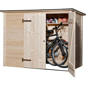Weka Fahrrad-Box 205 cm x 84 cm