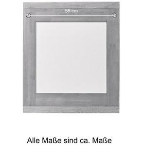 WELLTIME Spiegel »Cadiz«, Holzspiegel Badspiegel aus Eiche Breite 60 cm