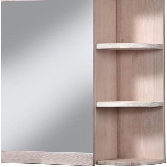 welltime Spiegelschrank »Cadiz« Breite 60 cm, mit echtholz Eiche modern gekälkt