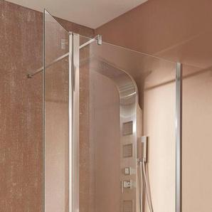 welltime Walk-in-Dusche »Mailand«, Einscheibensicherheitsglas, Duschabtrennung erhältlich in 3 verschiedenen Breiten (90-120cm)