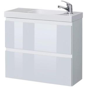 welltime Waschtisch »Barcelona«, Badmöbel mit reduzierter Tiefe, Breite 60 cm