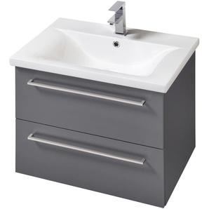 welltime Waschtisch Torino, Breite 60 cm x 55 grau Waschtische Badmöbel