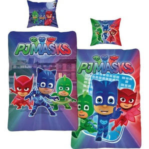 Wendebettwäsche »Attack«, PJ Masks, mit drei kleinen Helden