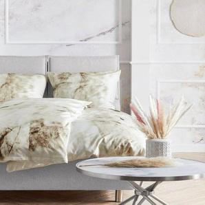 Wendebettwäsche »Marble«, Guido Maria Kretschmer Home&Living, mit schönem Marmormuster