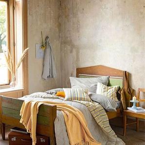 Wendequilt Rauten-Streifen - bunt - Baumwolle, Füllung: Polyester - Tagesdecken & Quilts - Überwürfe & Sofaüberwürfe