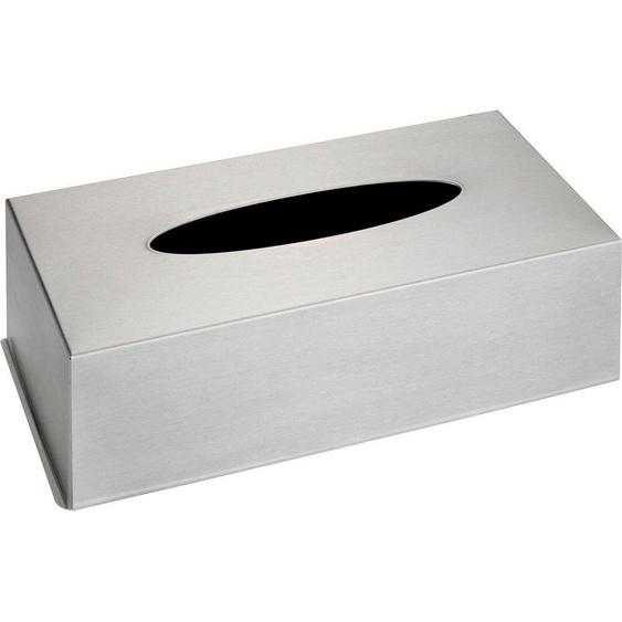 WENKO Box für Kosmetiktücher, Edelstahl