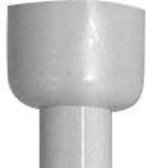 WENKO Deckenträger, für Teleskop-Duschstange Ø 2 cm weiß Gardinenstangenhalter Zubehör Gardinen Vorhänge Deckenträger