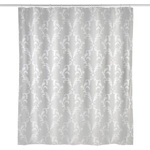 WENKO Duschvorhang ,silber ,Polyester