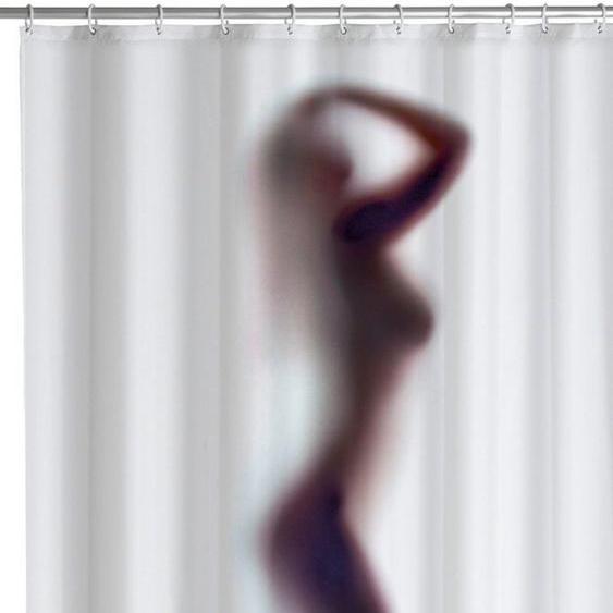 WENKO Duschvorhang »Silhouette«, Anti-Schimmel, 180 x 200 cm, waschbar