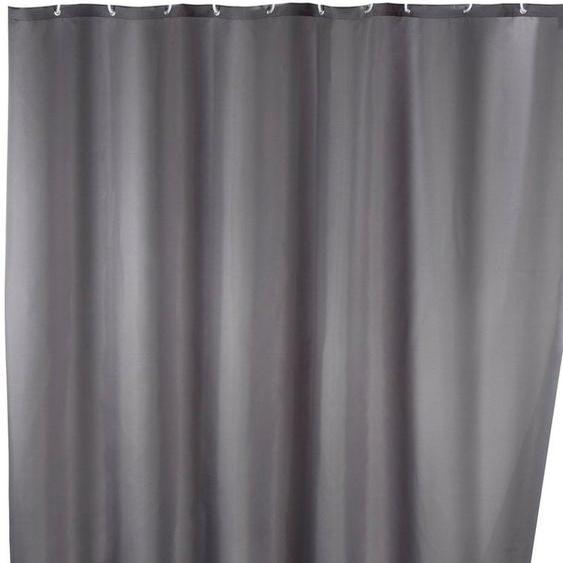 WENKO Duschvorhang »Uni Grey« Breite 180 cm, waschbar