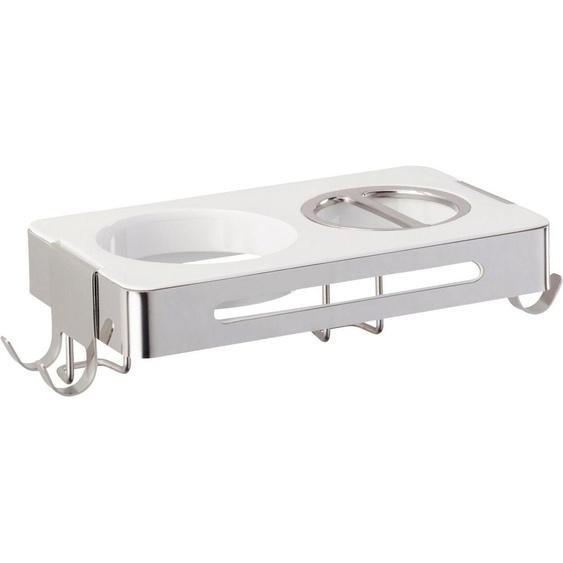 WENKO »Premium Plus« Haartrocknerhalter, (für 2 Elektrogeräte)