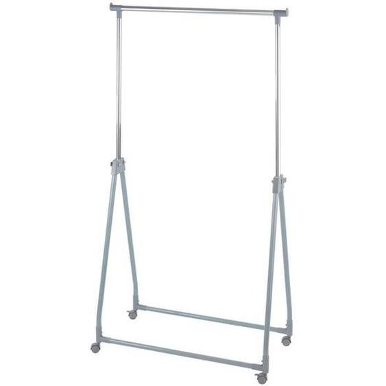 Wenko Kleiderständer, 40 kg Belastbarkeit, klappbar, stufenlos höhenverstellbar