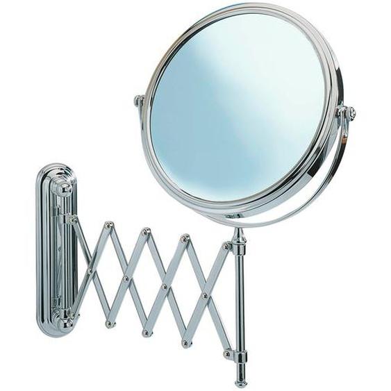Wenko Kosmetik-Wandspiegel Teleskop Deluxe Chrom glänzend